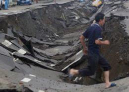 Explosion de gaz à Kaohsiung