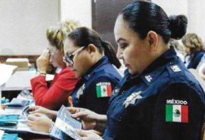 Mexique formation des forces de l'ordre