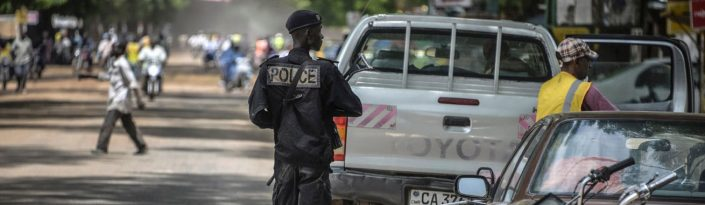 policier Camerounais